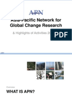 Asia-Pacific Network Overview.