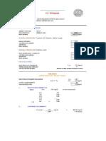 Diseño de Mezclas 175 Para Sardineles y Veredas