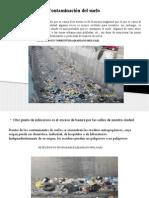 Diapositivas de Contaminacion Del Suelo