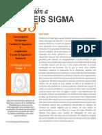 Ponencia 14-10-2014 Seis Sigma