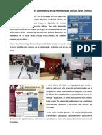 Crónicas de Unos Talleres de Empleo en La Hermandad de San Jose Obrero
