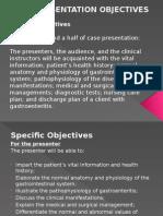 Case Presentation Gastroenteritis