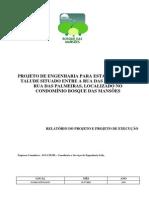 Modelo de Projeto - Estabilização de Taudes