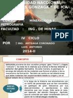 CLASE I- MINE-PETRO ... Mineralogogogog