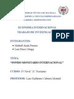 FMI Economia Internacional