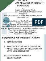 Interfaith Dialogue in Islam