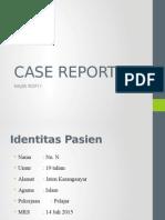 Case Report Najib Ppt