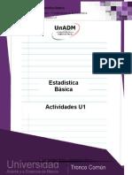 Actividades de Aprendizaje U1