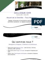 Eau'xygen - Accueil Clientele Handicapee - salles de bain - SPA- hôtellerie - Paris