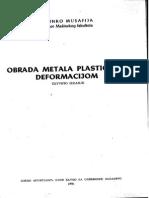 Obrada metala plastičnom deformacijom