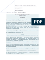 Estatutos de Asociaciones de Mantenimiento Vial