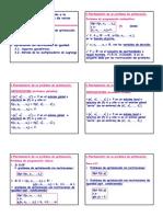 Optimizacion de Una o Varias Variables