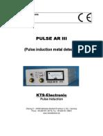 Metal Detector Pulse Ar III