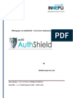 AuthShield 2FA Integration With Checkpoint One Click VPN Solution
