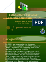 Bangsamoro Successor Generation Network (BSGN)