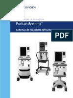 Puritan Bennett 800 Series - Manual Del Operador y de Referencia Técnica [2011]