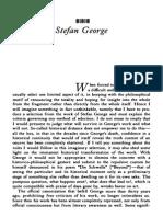 Theodor W. Adorno - Stefan George