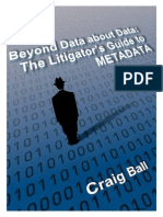 The Litigators Guide to Metadata 2011