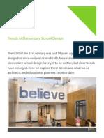 Trends in Elementary S trends-in-elementary-school-design.pdfchool Design