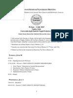 Fifth Enoch Seminar Nangeroni Meeting Program NEW