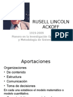 Rusell Lincoln Ackoff