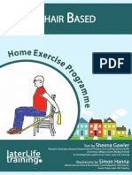 Chair Based Home Exercise Programme