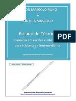Estudo de Técnica Baseados Em Escalas e Intervalos. Nilson Mascolo & Cinthia Mascolo - Versão Gratuita - REV2