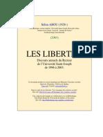 Abou Sélim - Les Libertés