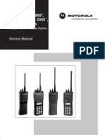 Motorola HT1000, JT1000 MT2000, MTS2000, MTX Service Manual