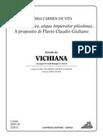 M.C. de Vita - Filosofo, Retore, Atque Imperator Piissimus