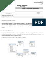Examen Diseño Aplicación Internet