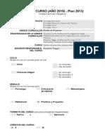 Diseno de Proyectos - Ips 2015 Raggio