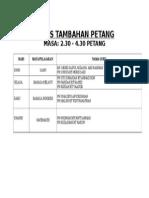 KELAS TAMBAHAN PETANG APRIL.doc