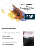 4. Key Components for Successful Weight Control