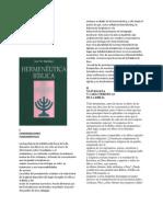 Resumen del Libro de Jose M. Martinez Hermeneutica Biblica por Héctor Pérez (centro esdras(.pdf