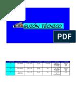 GUIÓN TÉCNICO