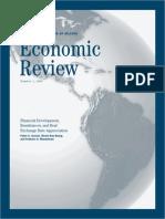 2009 01 - Financial Development, Remittances, & Real Exchange Rate Appreciation - Acosta Et Al