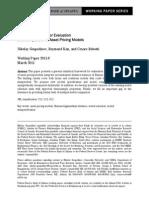 2011 08 - Chi-Squared Test for Evaluation & Comparison of Asset Pricing Models - Gospodinov, Kan y Robotti