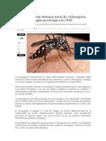 La Propagación Del Virus Chikunguña