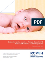 Annual Neonatal Report 2013