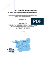 18. Health Needs Assessment of Bme Children s Needs (1)