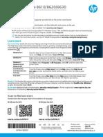 HP Officejet Pro 8630 Startup Guide