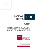 Instructivo Pago DISTANCIA