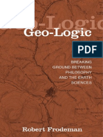 Frodeman (2003) - Geo-logic