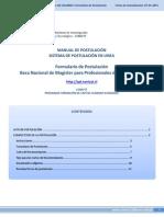 Manual SPL 3 Formulario Postulacion Mpebch