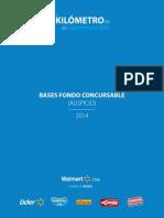 Bases Fondo Concursable 2014 Finales