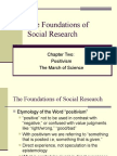 The Foundations of Social Research Ch 2