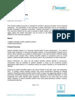PSS Sodium Bisulfite Solution 164356