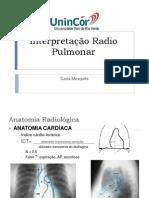 Interpretação Radio Pulmonar
