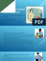 Teacher Student Relationship